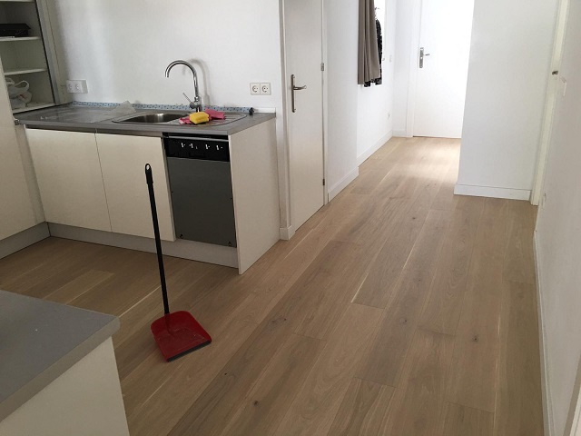 Painting and parquet flooring