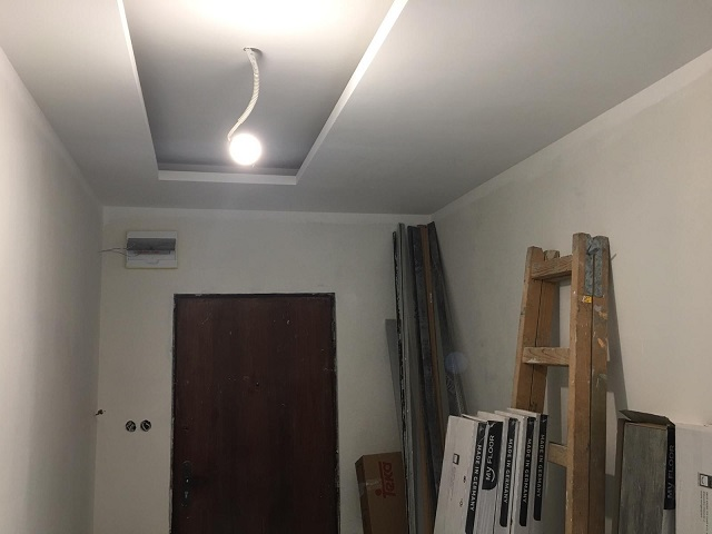 Construction of a suspended ceiling